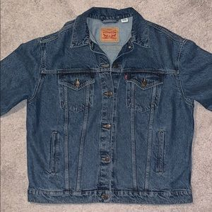 Levi size XL jean jacket, worn once